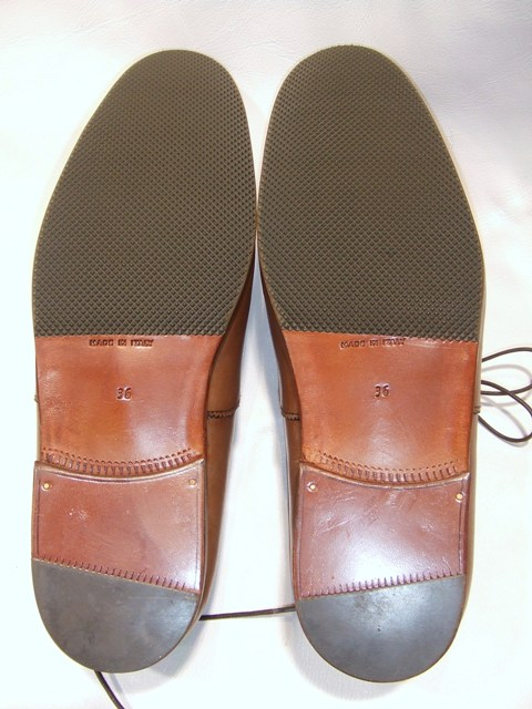 靴修理 ハーフソール すべり止め