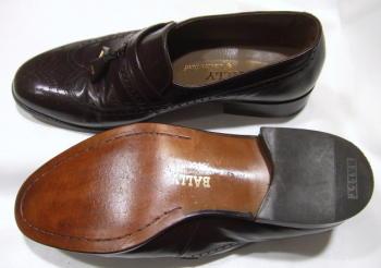 バリー(靴)の修理