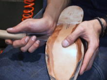 高級革靴修理:クローズド・チャネル