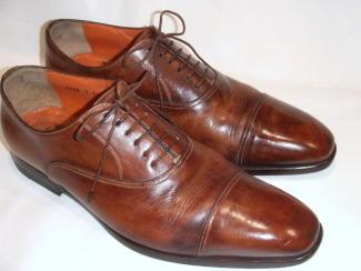 つま先キズの紳士靴(修正)1