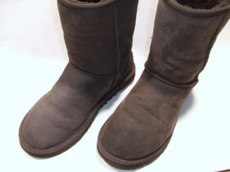 靴クリーニング:UGGブーツ 洗い後