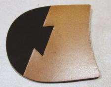 靴修理:革コンビ・リフト(クサビ)