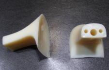 靴修理:ヒール交換 55mm