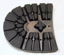 靴修理:VIBRAM登山ブロックヒール