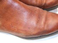 靴クリーニング:ショートブーツのカビ